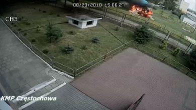 Pożar na placu zabaw w Częstochowie! Ktoś podłożył ogień tam, gdzie bawiły się dzieci?