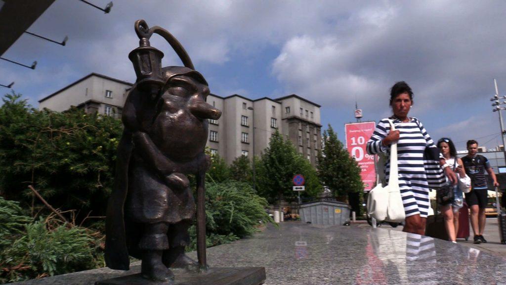 Szlak Ślonski Godki wzbogacił się o figurkę Dracha. Stanęła przed Legendią