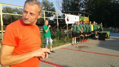 Henryk Kaleta - prezes i trener UKS MK Górnik Katowice (fot. Wojciech Żegolewski)