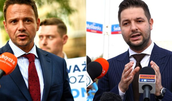 PiS odbije PO Warszawę? Patryk Jaki wygrywa z Trzaskowskim w sondażach (fot.TVP Info)