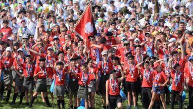Harcerze pobili rekord i ułożyli największą żywą flagę Polski. W sumie rekord biło 12 tysięcy zuchów.