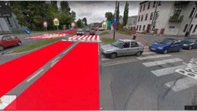 W Sosnowcu budują myślące przejście dla pieszych. Inteligentne pasy powstają w Sielcu (fot.UM Sosnowiec)