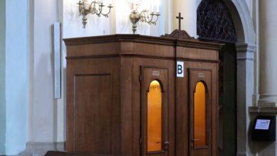Jak spowiadać się w upały? W bazylice postawili konfesjonały z klimatyzacją [ZDJĘCIA] (fot. Sanktuarium Pasyjno-Maryjne Kalwaria Zebrzydowska)