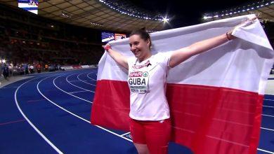 Paulina Guba zdobywa złoty medal ME w Berlinie w konkurencji pchnięcia kulą
