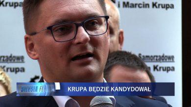 Marcin Krupa ogłosił dziś swój start w wyborach samorządowych