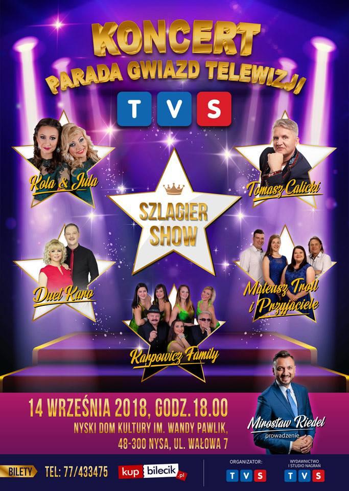 Parada Gwiazd Telewizji TVS Nysa (fot. TVS)