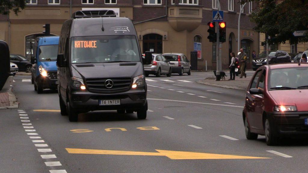 W Katowicach powstaje buspas na Mikołowskiej. To początek transportowej rewolucji