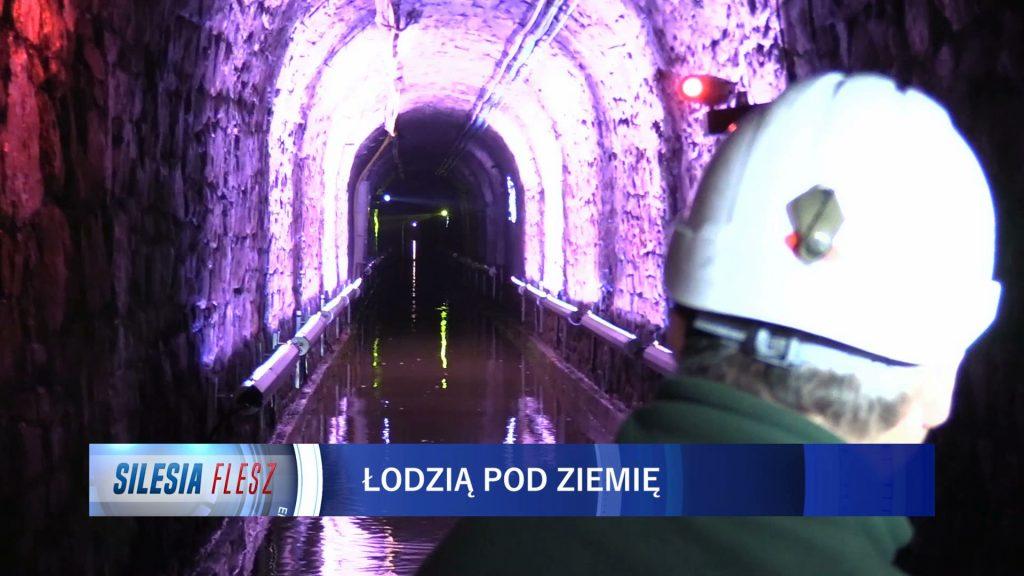 Podziemna trasa wodna w Zabrzu otwarta. Pod centrum miasta przepłyniecie łodzią