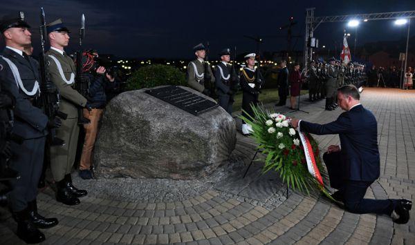 Prezydent Duda w Tczewie: 1 i 17 września 1939 roku Polska została rozdarta