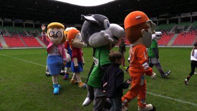 Na Stadionie Miejskim w Tychach odbył się mecz pomiędzy drużynami Gigantów dla Świetlikowa a Przyjaciółmi Fundacji