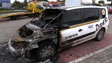 W Gliwicach znowu ktoś podpala taksówki. Spłonęły trzy samochody