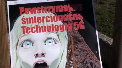 Gliwice jako pierwsze miasto w Polsce będzie testowało technologię 5G. Mieszkańcy protestują [WIDEO] (fot.mat.TVS)
