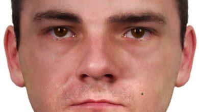 Będzin: Rozpoznajecie go? [PORTRET PAMIĘCIOWY] Chciał wykorzystać sesualnie 51-latkę (fot.Śląska Policja)