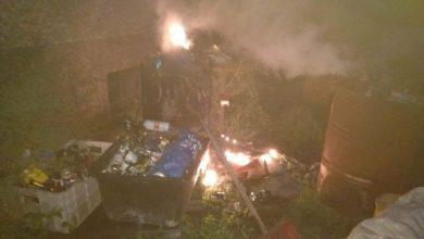 Katowice: palił odpady na podwórku. Smród było czuć w całej okolicy