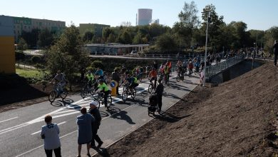 Velostrada w Jaworznie to pierwsza w Polsce prawdziwa autostrada dla rowerów (fot.Paweł Jędrusik)