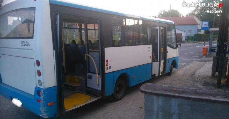 Śląskie: Wiózł dzieci ze szkoły. Kierowca autobusu miał ponad 2 promile (fot.Śląska Policja)