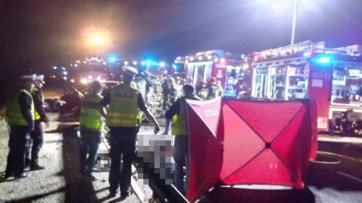 Tragiczny wypadek na obwodnicy Nysy [ZDJĘCIA] Śledztwo trwa (fot.www.policja.pl)
