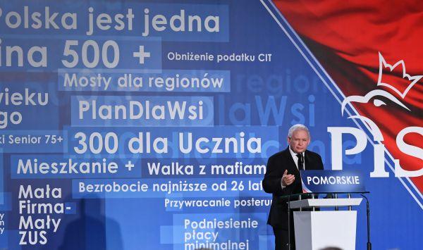 Gdyby wybory do Sejmu odbyły się we wrześniu, PiS uzyskałby 45 proc poparcia i mógłby rządzić samodzielnie