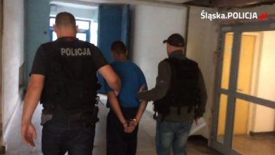 Policjanci z Chorzowa złapali oszusta, który podszywał się pod jednego z nich (fot.KMP Chorzów)