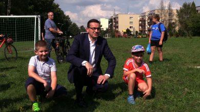 Premier Mateusz Morawiecki odwiedził dziś Tychy i małego Mateusza, który zaapelował o pomoc