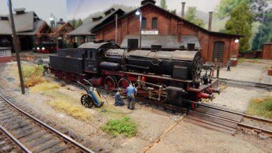 Wspaniałe modele lokomotyw i wagonów będzie można oglądać jeszcze 30 września w Arenie Gliwice (źr:materiały prasowe organizatora/UM Gliwice)