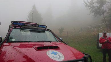 Wypadek lotniczy na Magurce Wilkowickiej. Na ratunek pospieszyli ratownicy GOPR (fot.Beskidzka Grupa GOPR/facebook)