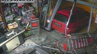 Okradali sklepy przy granicy z Niemcami. Do każdego wjeżdżali samochodem [FOTO] (fot.Policja Dolnośląska)