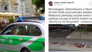Niemcy: Młody Polak zabity przez nożownika w pobliżu meczetu (fot. tt Cezary Trotyl Gmyz/pixabay)