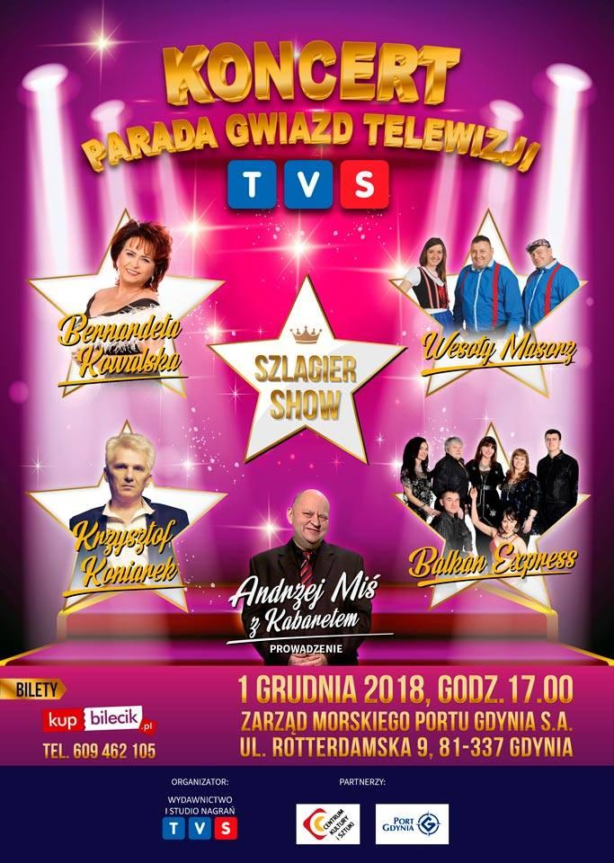 Parada Gwiazd Telewizji TVS - Gdynia (fot. TVS)