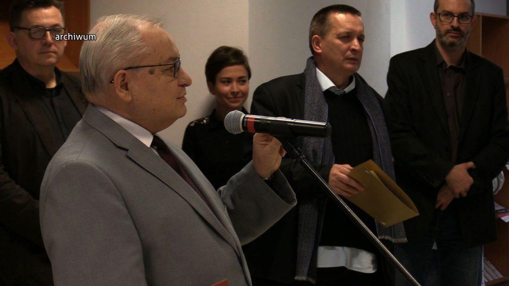 Jan Malicki kierował Biblioteką Śląską przez minione 27 lat