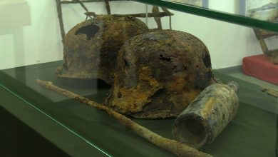 W Miejskiej Placówce Muzealnej w Mikołowie powstała wystawa, na której można obejrzeć broń, hełmy