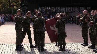 Przysięgli służyć wiernie Rzeczypospolitej Polskiej. Dzisiaj 73 osoby stały się żołnierzami Wojsk Obrony Terytorialnej