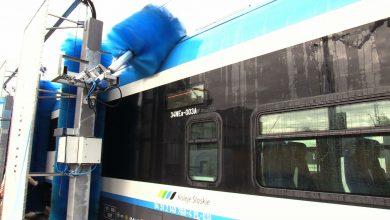 Myjnia pociągów uruchomiona przez Koleje Śląskie może umyć 10 składów dziennie