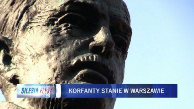 Wieloletnie starania przyniosły skutek. Odsłonięcie pomnika Wojciecha Korfantego w Warszawie (fot.mat.TVS)