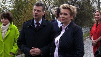 Jedna z wyborczych rekordzistek - czyli prezydent Łodzi z ponad 70-procentowym poparciem w wyborach, sama z poparciem do Bytomia przyjechała
