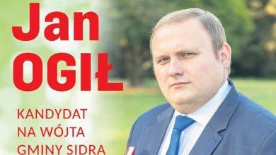 Był jedynym kandydatem na wójta, mimo to przegrał (fot. facebook Jan Ogił)