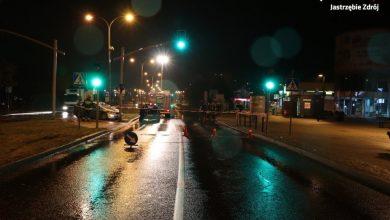Jastrzębie-Zdrój: Potrąciła 14-letnią dziewczynkę. Wjechała na pasy na czerwonym świetle (fot. KMP Jastrzębie-Zdrój)