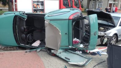 Śląskie: Uciekli z miejsca wypadku, w którym ranna została 24-letnia kobieta [WIDEO] (fot. policja.pl)