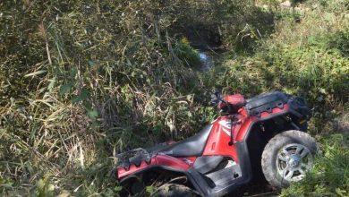 Tragiczny wypadek na quadzie. Dwaj mężczyźni zostali przygnieceni, zginęli na miejscu (fot.policja.pl)