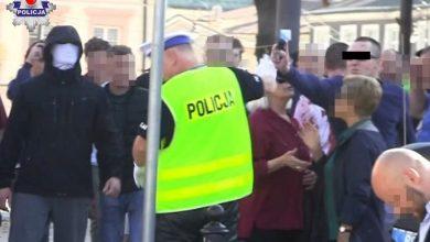 34-latek aresztowany za atak na policjanta podczas Marszu Równości (fot. Policja Lubelska)