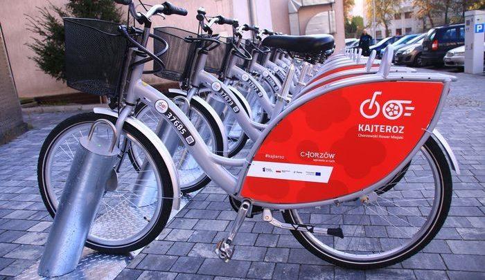 Chorzów uruchamia system roweru miejskiego. 46 stacji rowerów w całym mieście (fot.UM Chorzów)