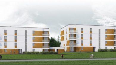 Nowe bloki powstają w Gliwicach. Znajdzie się w nich prawie 150 mieszkań (fot.UM Gliwice)