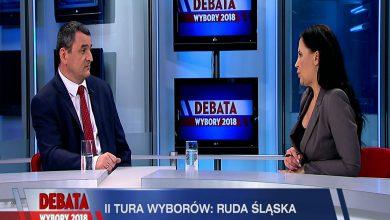Debatę Prezydencką TVS Ruda Śląska poprowadziła Anna Tabaka. Nie zabrakło pytań o polityczną przynależność, ale i o to, co udało się Markowi Wesołemu jako radnemu, zrobić dla Rudy Śląskiej