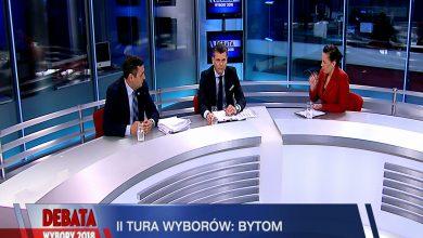 Debata Prezydencka Bytom. O fotel prezydenta powalczą tu 4 listopada Damian Bartyla i Mariusz Wołosz. Dzisiaj walkę na argumenty stoczyli w Telewizji TVS