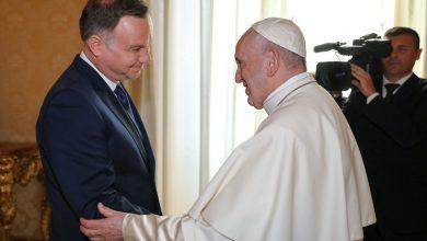 Prezydent Andrzej Duda zaprosił papieża Franciszka do Polski. Zaproszenie złożono podczas oficjalnej wizyty prezydenckiej pary w Watykanie (fot.KPRP)