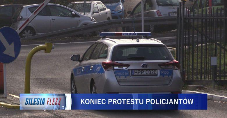 Protest policjantów zakończony. Jest porozumienie między związkami zawodowymi a MSWiA [WIDEO] (fot.mat.TVS)