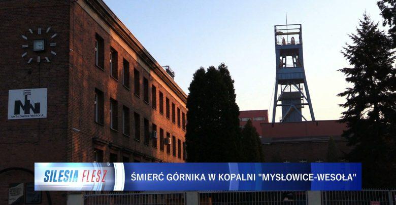 Mysłowice: Wstrząs w kopalni Wesoła. Nie żyje 35-letni górnik [WIDEO] (fot.mat.TVS)