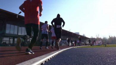 100-lecie niepodległości Polski: W Rudzie Śląskiej biegacze pokonali 100 km na 100-lecie niepodległości