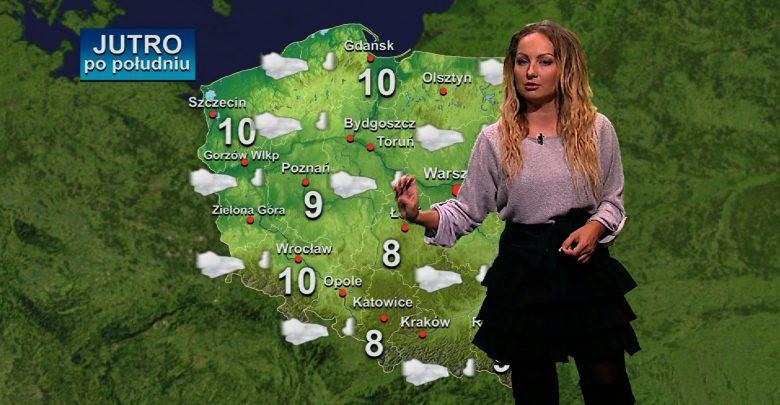 Nina Nocoń, która rozganiając chmury biegnie już do Was z najnowszą prognozą pogody!