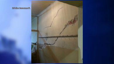 Ewakuacja szkoły w Jaworznie! Ogromne pęknięcia w ścianach zagrażają uczniom